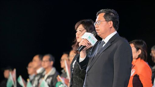 桃園市長,鄭文燦,九合一選舉 圖/翻攝自鄭文燦臉書