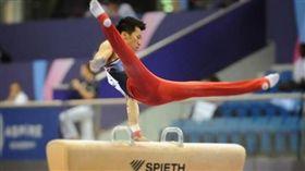 李智凱再次在今年世界盃系列賽的鞍馬項目摘下金牌。(圖/翻攝自李智凱IG)