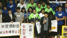 ▲羽球一哥周天成為運動員發聲反正名。(資料照/記者林辰彥攝影)