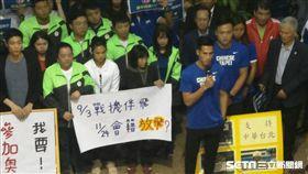 ▲運動員站出來為自己的舞台發聲。(圖/記者林辰彥攝影)