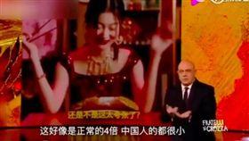 DG捲辱華風波!義電視台拍片回嗆「中國人XX都很小」  圖/翻攝自秒拍