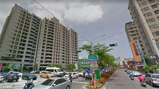鳳山,房市,高雄。(圖/翻攝自GoogleMap)
