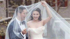 袁巴元,張雨綺(圖/微博)