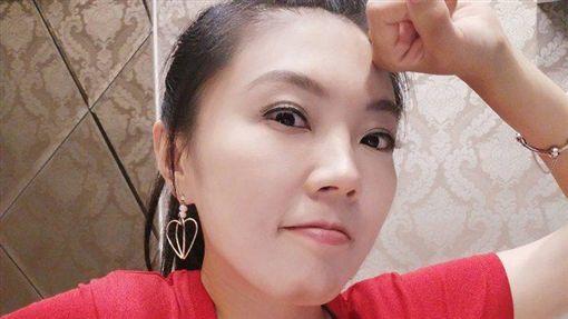 劉樂妍,統促黨,中國國慶圖/翻攝自劉樂妍臉書