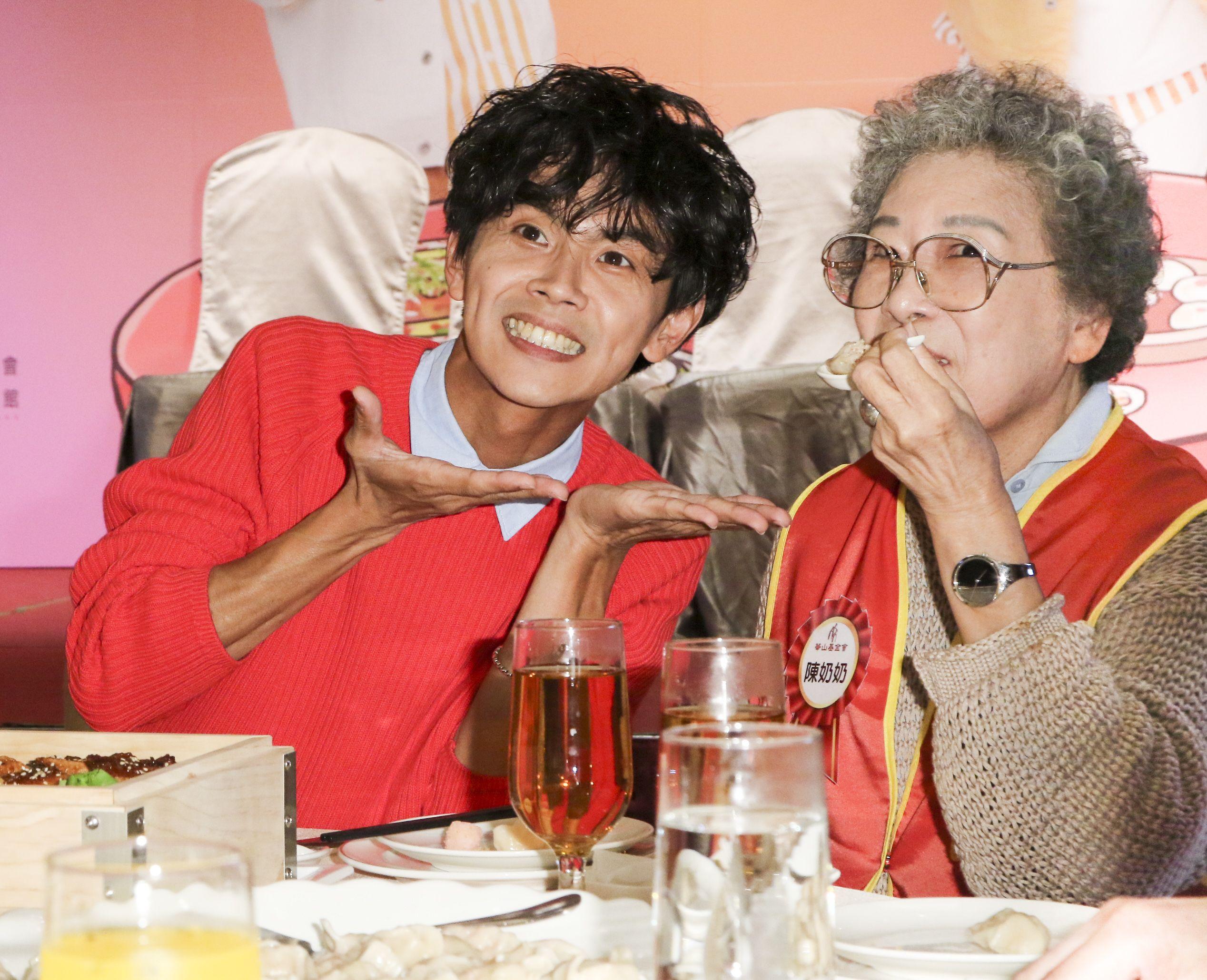 浩角翔起今受邀擔任華山基金會公益大使。(記者林士傑/攝影)