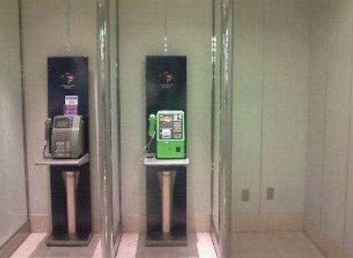 日本隔間,電話亭