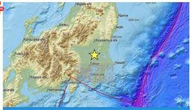日本茨城縣南部發生規模5地震 無海嘯威脅(圖/截取自Khaleej Times)