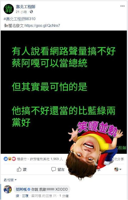 蔡阿嘎/FB
