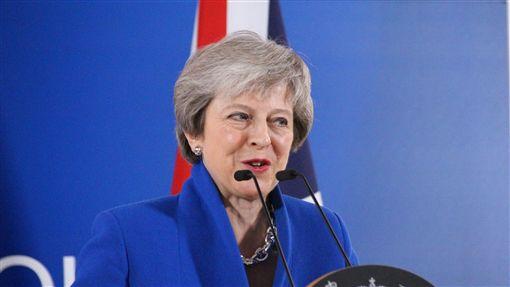 歐盟通過英國脫歐協議 梅伊挑戰國會難關歐洲聯盟成員國11月25日通過英國脫歐協議,英國首相梅伊當天在布魯塞爾舉行記者會,呼籲英國國會同意通過。中央社記者唐佩君布魯塞爾攝  107年11月26日