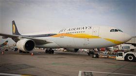 捷特航空公司(Jet Airways),圖/翻攝自臉書