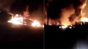 河北張家口化工廠附近爆炸22死22傷(圖/翻攝自微博)