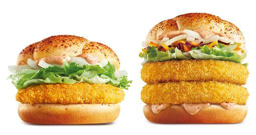 麥當勞,漢堡。