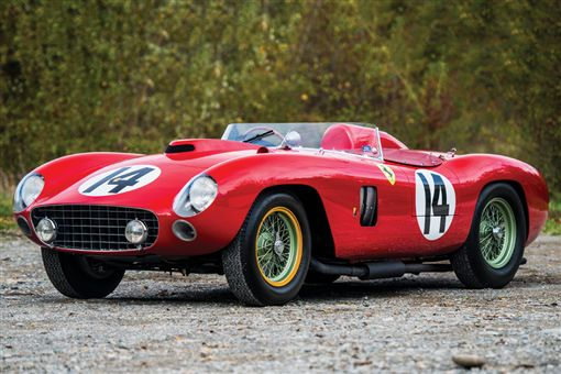 Ferrari 290 MM賽車。(圖/翻攝網站)
