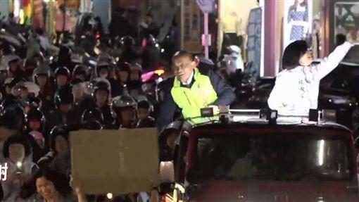蘇貞昌三重蘆洲掃街圖翻攝自蘇貞昌臉書