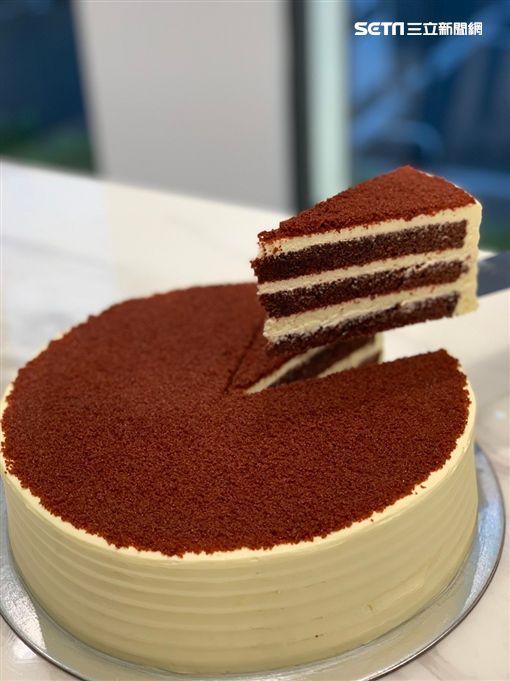 LADY M,蛋糕,千層蛋糕。(圖/記者馮珮汶攝)