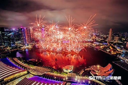 新加坡,跨年,濱海灣。(圖/新加坡旅遊局提供)