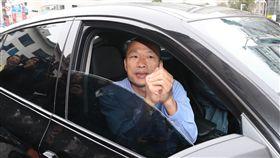 韓國瑜:我本來就是個賣菜郎 沒這麼厲害國民黨籍高雄市長當選人韓國瑜(圖)28日被問及北農總經理吳音寧是否遭「韓流」滅頂而下台,韓國瑜表示,不敢這麼說,自己本來就是賣菜郎,沒這麼厲害。中央社記者吳翊寧攝 107年11月28日