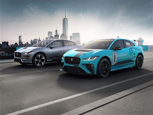 Jaguar推出I-PACE eTROPHY參加全球首屆國際量產電動車錦標賽。(圖/翻攝網站)