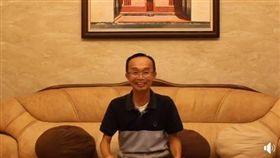 南市長的龍崎區牛埔里長陳永和拍片謝票,臉書