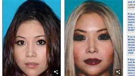 撞死人遭FBI「全球通緝」 華裔女澳洲落網GG了 圖/翻攝自每日郵報
