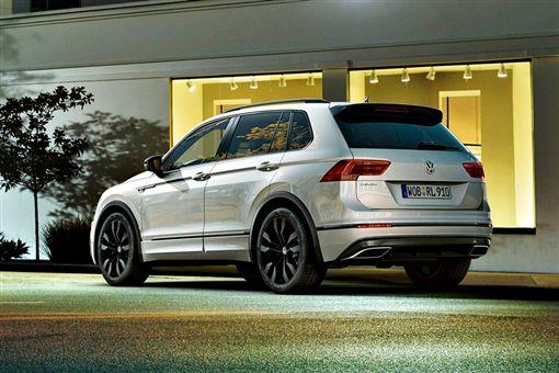 Volkswagen Tiguan 「Black Style」 R-Line design package(圖/翻攝網路)
