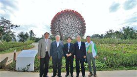 尼加拉瓜外交部長參訪花博(台中市政府提供)