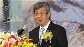 陳建仁出席國際東洋醫學學術大會副總統陳建仁25日在台北出席第19屆國際東洋醫學學術大會開幕致詞表示,歡迎來自國際各界人士來台灣與會。中央社記者張皓安攝 107年11月25日