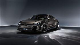 Audi e-tron GT concept純電概念車。(圖/Audi提供)