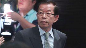 謝長廷出席台日經貿會議(2)第43屆「台日經濟貿易會議」29日在台北舉行,駐日代表謝長廷(前)出席與會。中央社記者吳翊寧攝  107年11月29日