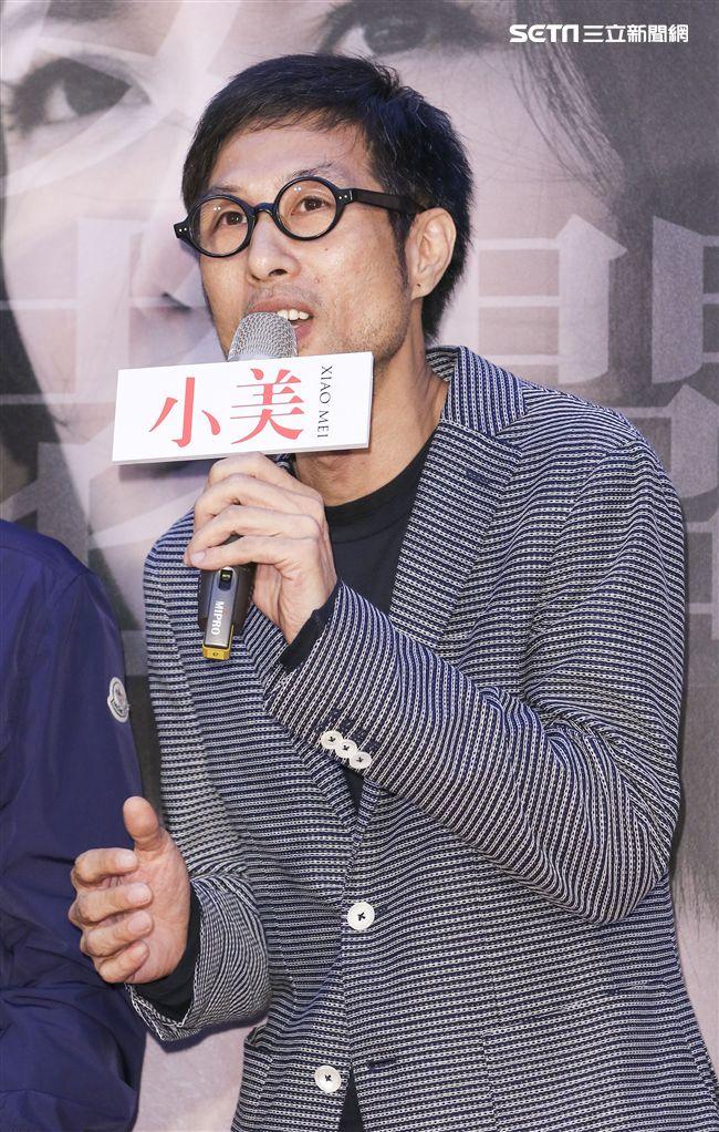 「小美」記者會導演黃榮昇。(記者林士傑/攝影)