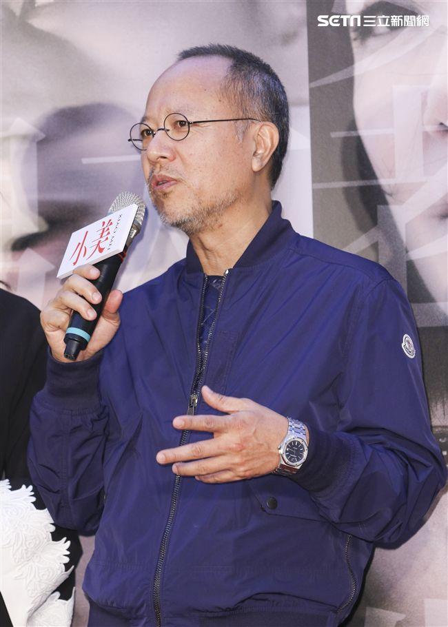 「小美」記者會監製鍾孟宏。(記者林士傑/攝影)