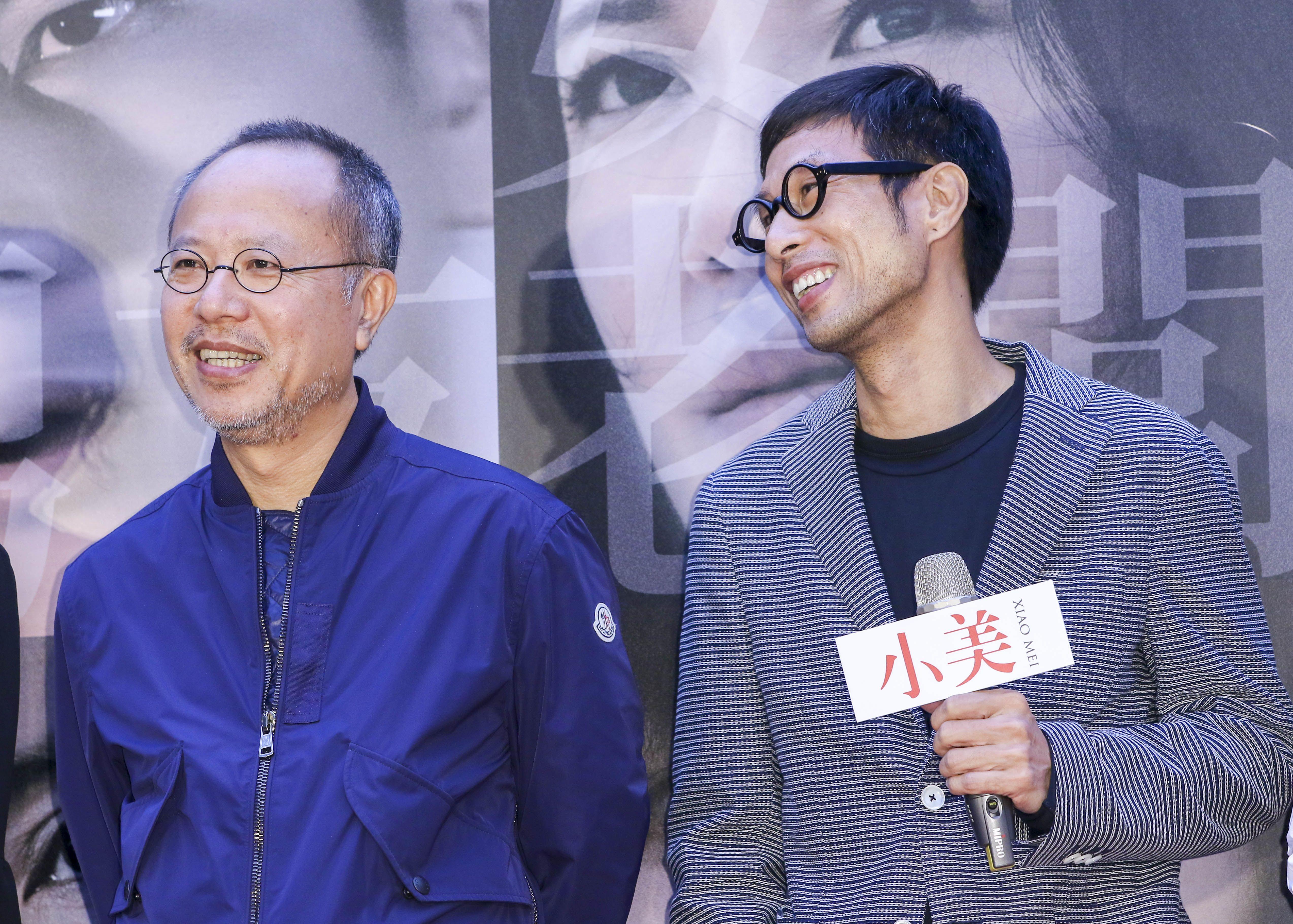 「小美」記者會監製鍾孟宏、導演黃榮昇。(記者林士傑/攝影)