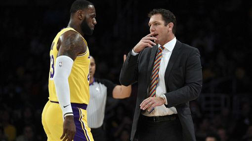 詹皇爆不甩教練 總裁魔術強森說話了NBA,洛杉磯湖人,LeBron James,Luke Walton,Magic Johnson翻攝自推特