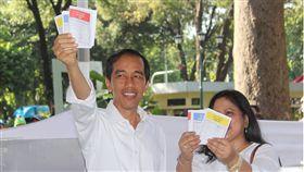 印尼地方大選快速計票 佐科威連任路更艱難印尼27日舉行地方選舉,執政黨慘敗,也為印尼總統佐科威連任之戰敲響警鐘。中央社記者周永捷雅加達攝 107年6月28日
