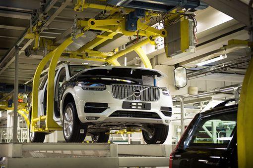 Volvo工廠(圖/翻攝網路)