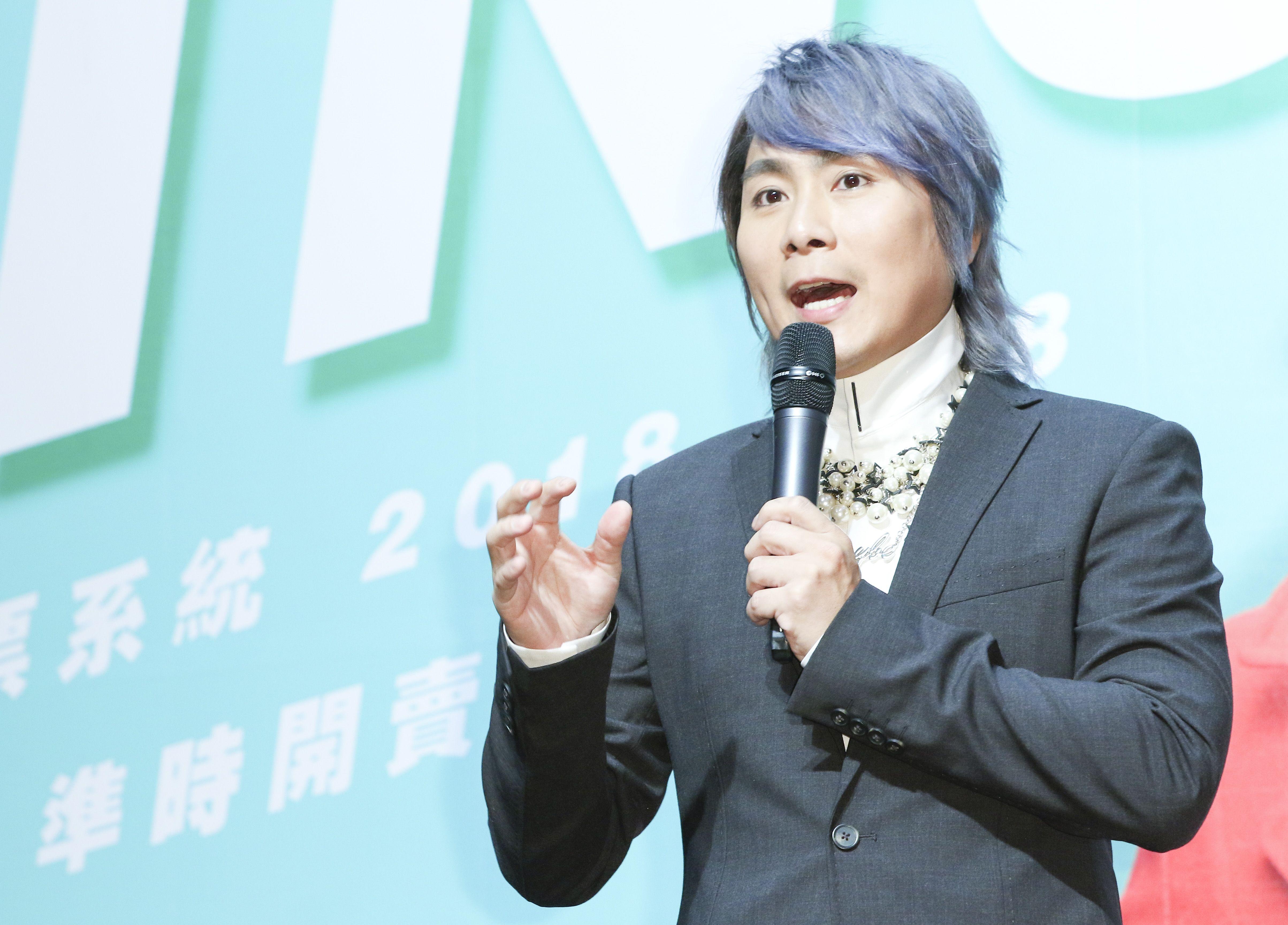 經典男團「5566」成員王仁甫。(記者林士傑/攝影)