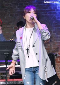「愛之日常音樂節」歌手戴愛玲出席演唱。(記者林士傑/攝影)