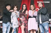 「愛之日常音樂節」桑布伊、戴愛玲、郭子、紀曉君、家家、MATZKA出席音樂會。(記者林士傑/攝影)