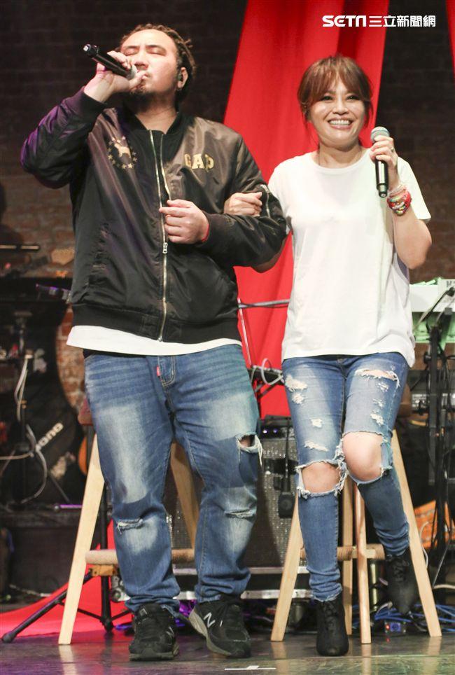 「愛之日常音樂節」MATZKA、戴愛玲出席音樂會。(記者林士傑/攝影)