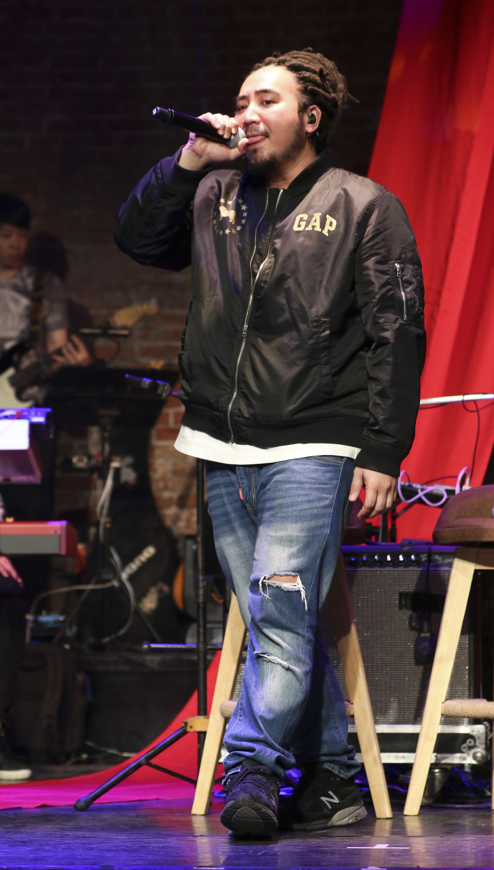 「愛之日常音樂節」MATZKA出席音樂會。(記者林士傑/攝影)