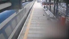 以色列,乘客火車站跳軌自殺(圖/翻攝自Israel National News)