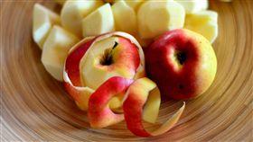 (圖/Pixabay)蘋果,水果,蘋果皮,削皮