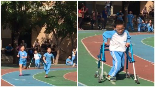身障童跑大隊接力/身障童盟臉書社團