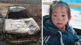 大陸河北涿州28日發生一起車禍事件,一名媽媽抱著2歲女兒過馬路時,被一輛小轎車撞上,媽媽當場死亡,汽車駕駛則肇事逃逸。離奇的是,女童卻人間蒸發,家屬完全找不到女童的下落。最後在警方的尋找下,發現女童的屍體卡在肇事車的「擋風玻璃」上。目前逃逸嫌犯已被警方逮捕,案件正在進一步審理中。(圖/翻攝自微博)