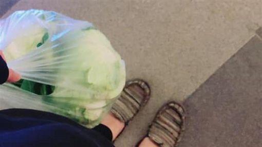 阿嬤,高麗菜,塑膠袋/爆廢公社