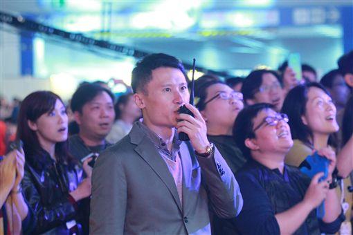 台灣尾牙王謝銘杰(受訪者提供)