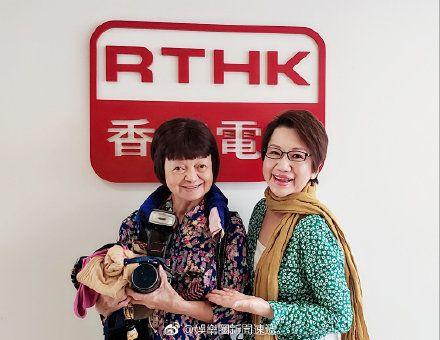 周潤發姊姊(左)周聰玲(圖/微博)