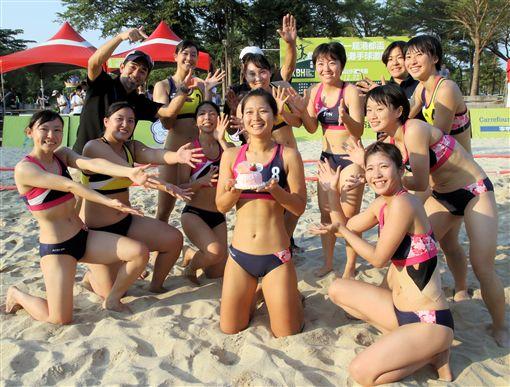 中谷香織在台灣度31歲生日。(圖/大會提供)