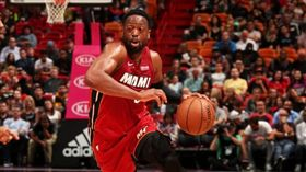 閃電俠致勝一擊 熱火主場險勝爵士 NBA,邁阿密熱火,Dwyane Wade 翻攝自推特