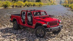 Jeep Gladiator皮卡。(圖/翻攝網站)